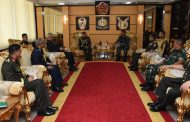 Berita Foto: Panglima TNI Terima Kunjungan Kehormatan Kasad Bangladesh
