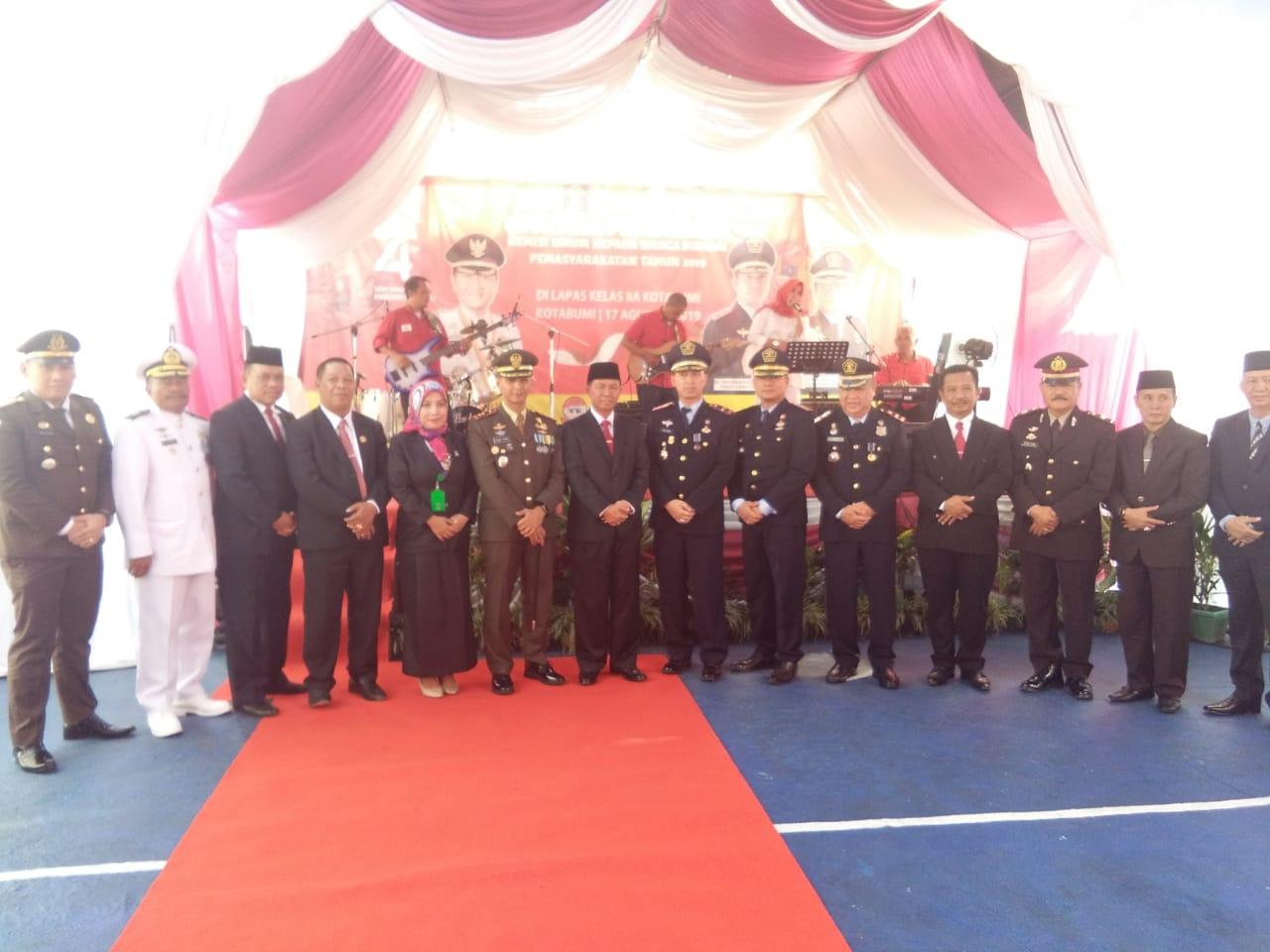 Wakil Bupati Lampura Hadir Pemberian Remisi Kepada Warga Binaan