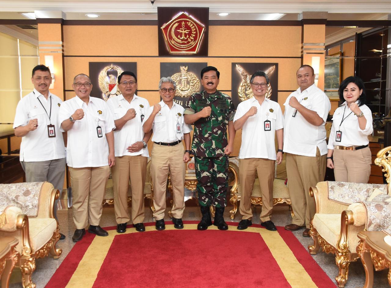 Panglima TNI Terima Audiensi Kepala SKK Migas