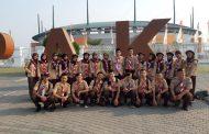 Sambut HUT Pramuka SMAN 13 Depok Kirim Satu Kontingen Ke Bogor