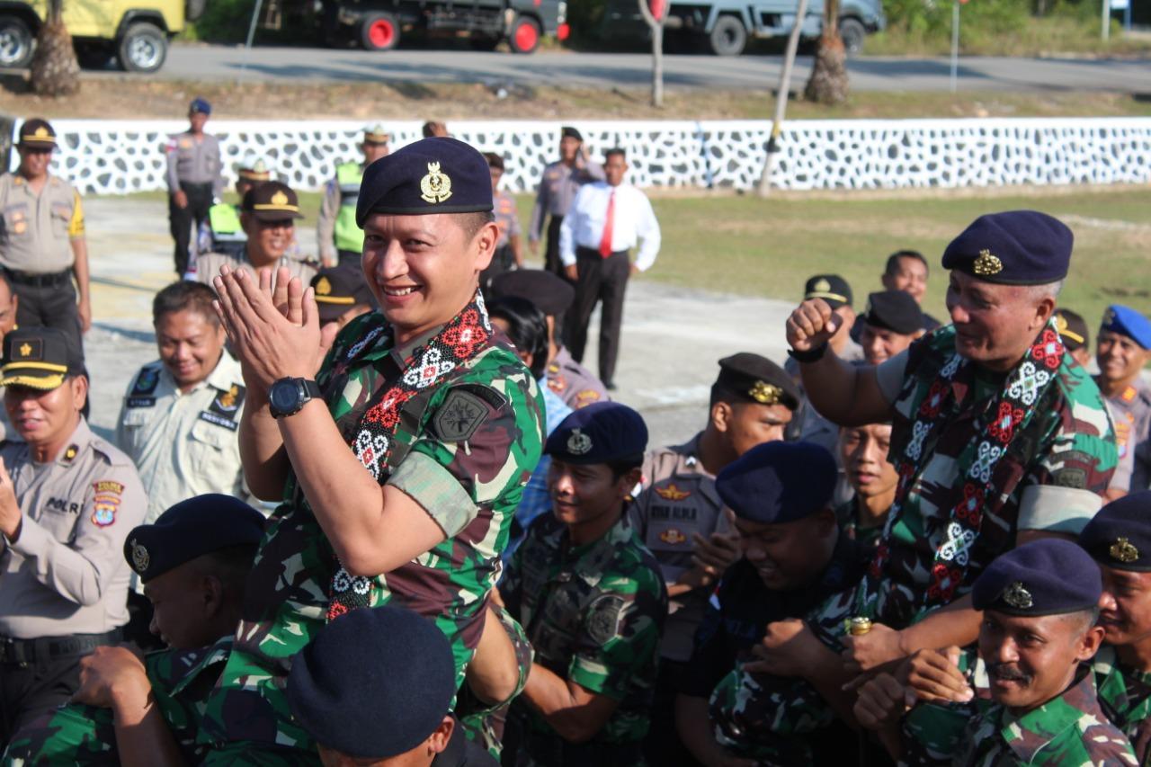 Tampuk Pimpinan Lanal Nunukan Berganti