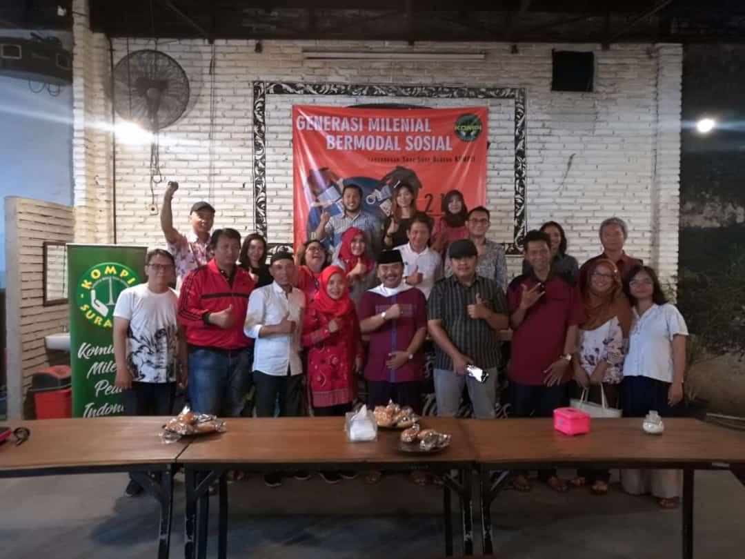 Ning Lia Bahas Indonesia Krisis Kepekaan Sosial Diacara Kompi