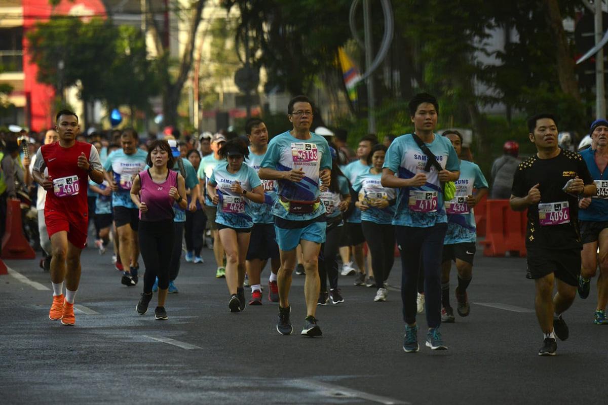 Ikuti Marathon Surabaya 2019, Komisaris Malang Post Meninggal