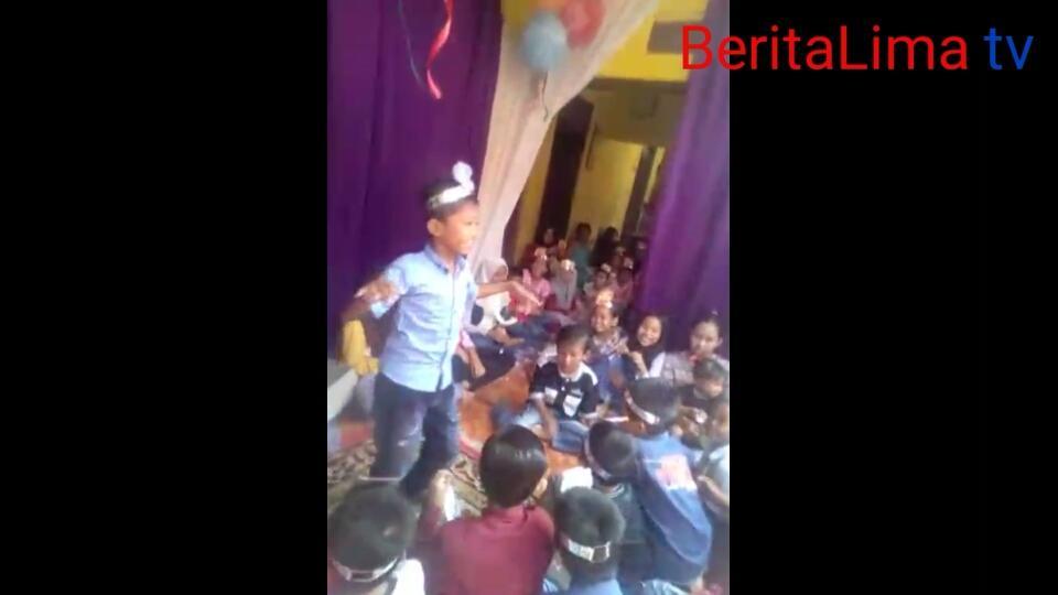 Muhamad Rifky Genap Sembilan Tahun