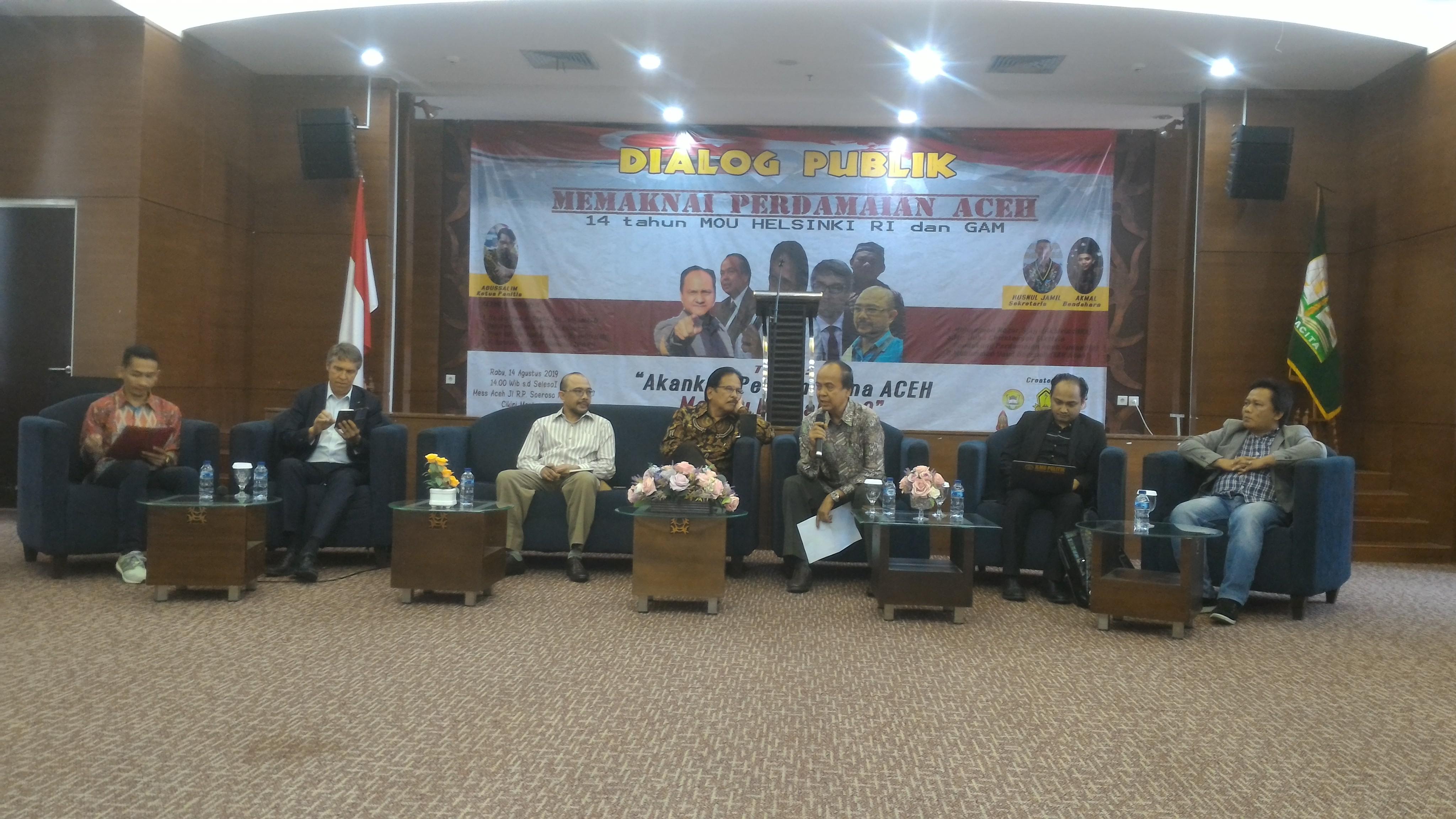 Memaknai Perdamaian Aceh, Masih Ada Poin – Poin Yang Tidak Bisa Dilaksanakan