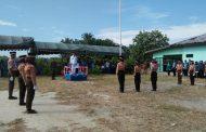 Meriahkan Hari Kemerdekaan Ke-74 Tahun, Pemerintahan Desa Lubuk Bayas Gelar Upacara