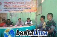 TNI-Polri Bersama BPBD KSB Lakukan Sosialisasi Pada Masyarakat Penanganan Dini Kahutla