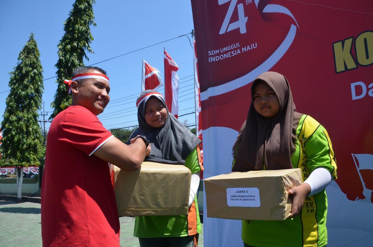 Perayaan HUT RI KE-74, Diwarnai Lomba Antar Pelajar di Surabaya