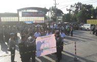 Polres Lampura Terjunkan 201 Personil Amankan Pelantikan Anggota DPRD