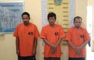 Polres Sergai Berhasil Menangkap Tiga Pelaku Kompak Jual Narkotika Sabu