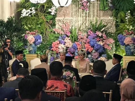 Presiden Jokowi dan Wapres Jusuf Kalla Jadi Saksi Pernikahan Anak Bamsoet