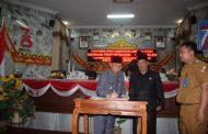 WakiL BUPATi Lampung utara hadir Rapat paripurna DPRD