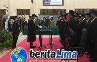 "25 DPRD KSB Sebagai Wakil Rakyat "" Periode 2019-2024 "" Resmi Dilantik"