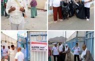 Serba -Serbi Mina Hari Armuna Jemaah Haji Asal Sumut Giat Gotong Royong Mengutip Sampah