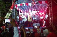 Pentas Seni Warga Sidotopo Wetan Diwarnai Deklarasi Damai