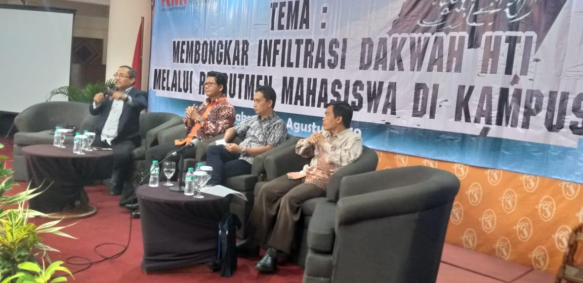 Ainur Rofik Mantan HTI: Penerimaan Mahasiswa Baru adalah Ujung Tombak Rekrutmen Anggota HTI