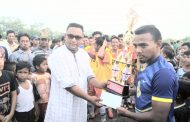 Turnamen Sepak Bola Piala Kepala Desa Bagan Kuala Berlangsung Sukses