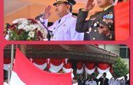Upacara HUT RI Ke-74 Di Kota Madiun, Berjalan Kidmat