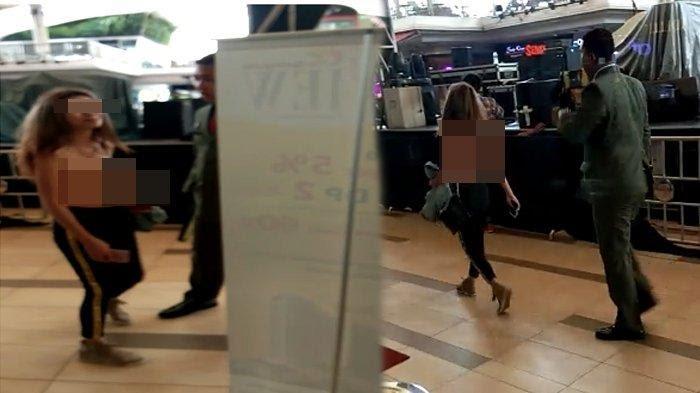 Viral Video Wanita Setengah Telanjang di Summarecon Mall