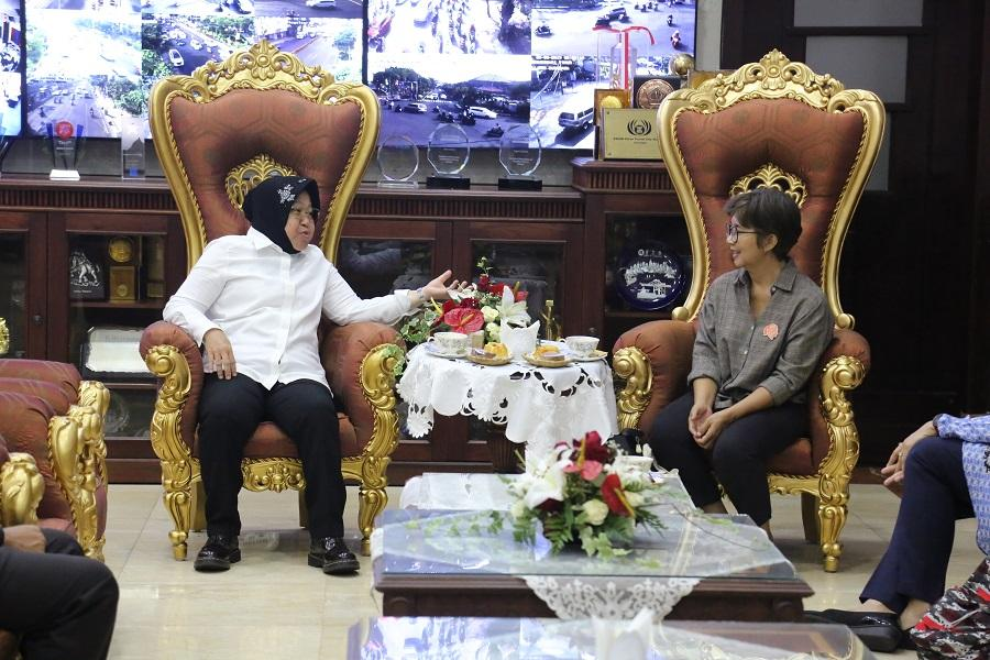 Bersama SPAK, Wali Kota Risma Rumuskan Kurikulum Anti Korupsi untuk Pelajar SD dan SMP