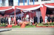 Upacara HUT RI ke-74, Walikota Bengkulu Dukung Pemindahan Ibu Kota ke Kalimantan