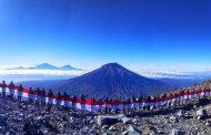 Sabuk Gunung Rangkaian Kegiatan HUT RI ke- 74 Pajero