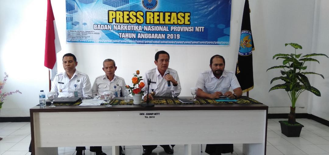 BNNP NTT Ungkap Kasus Peredaran Narkotika di Maumere