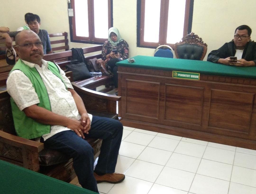 Palsu Dokumen, Bos Kayu Maluku Dihukum 1 Tahun 6 Bulan