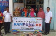 DISDALDUK Bersama BkkBN Sosialisasi Kampung KB di Desa Sinar Gunung.
