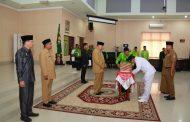 Bupati Sergai Melantik Pejabat JPT Pratama, Administrator dan Pengawas Di Aula Sultan