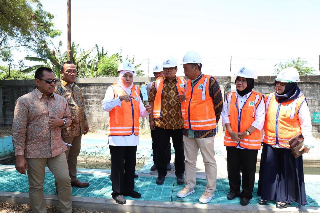 Gubernur Khofifah Harap PLB SIER Beri Kemudahan Akses Produk Bagi UKM dan IKM