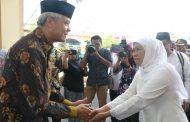Gubernur Khofifah dan Gubernur Ganjar Kerjasama Kelola Sungai Bengawan Solo