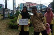 HMJ Sendratasik UNP Gelar Aksi Peduli untuk Korban Jerebu Karhutla di Riau