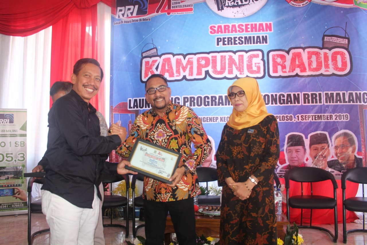 RRI Malang Launching Kampung Radio dan Program Kentongan