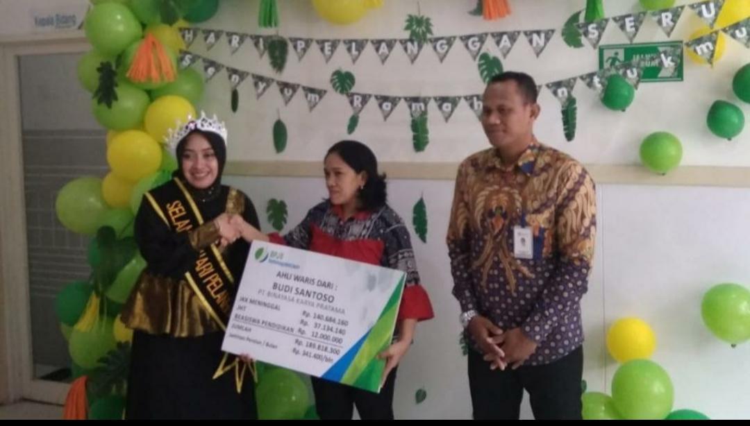 BPJS Ketenagakerjaan Malang Meriahkan Hari Pelanggan