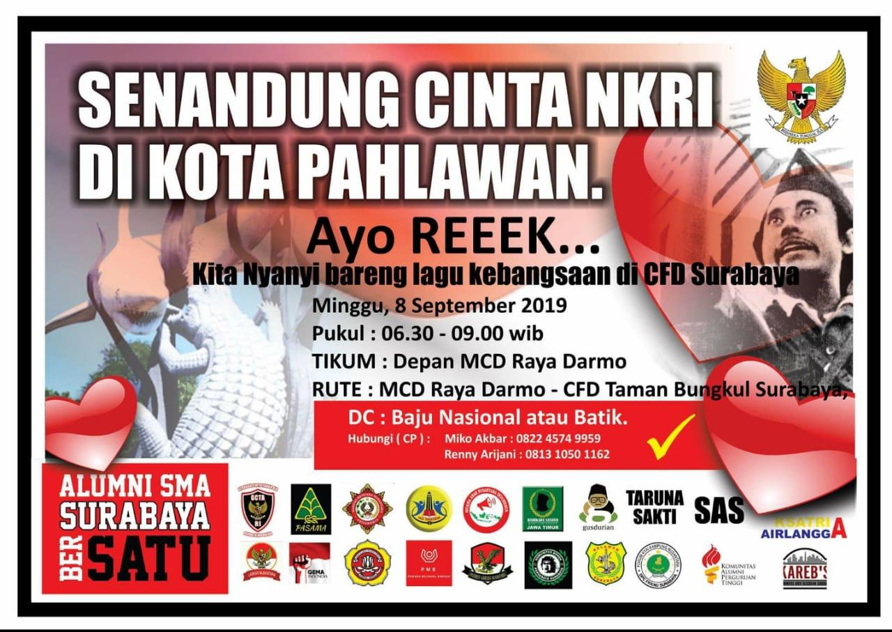 """""""Senandung Cinta NKRI di Kota Pahlawan"""""""