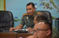 Komandan Korem 152/Babullah Pimpin Rapat Persiapan Sambut HUT TNI ke-74 Tahun 2019.