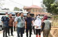 Peninjauan Perbaikan Jalan brigjen Hasan Kasim dan Jalan Simpang Sukawinatan