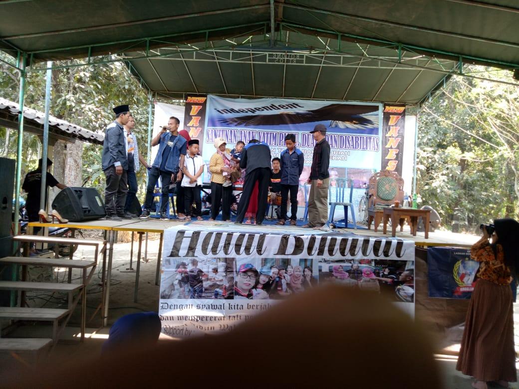 Komunitas Independen Magelang Beri Santunan Sambut Bulan Muharram 1441 H