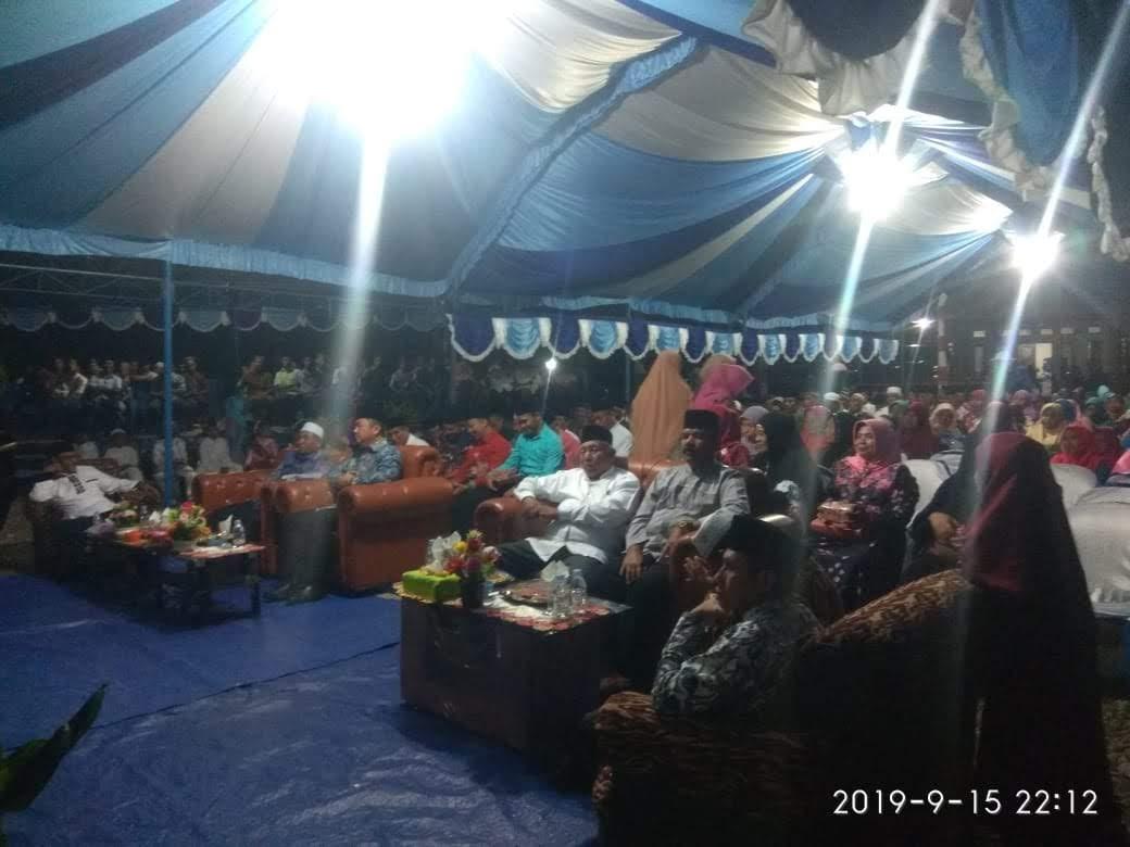 Bupati Hendrata Thes Hadiri Peringatan Tahun Baru Islam 1 Muharram 1441 Hijriah