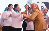 Ibu Negara Tinjau Kali Bahagia dan Sosialisasikan Gerakan Indonesia Bersih di Bekasi