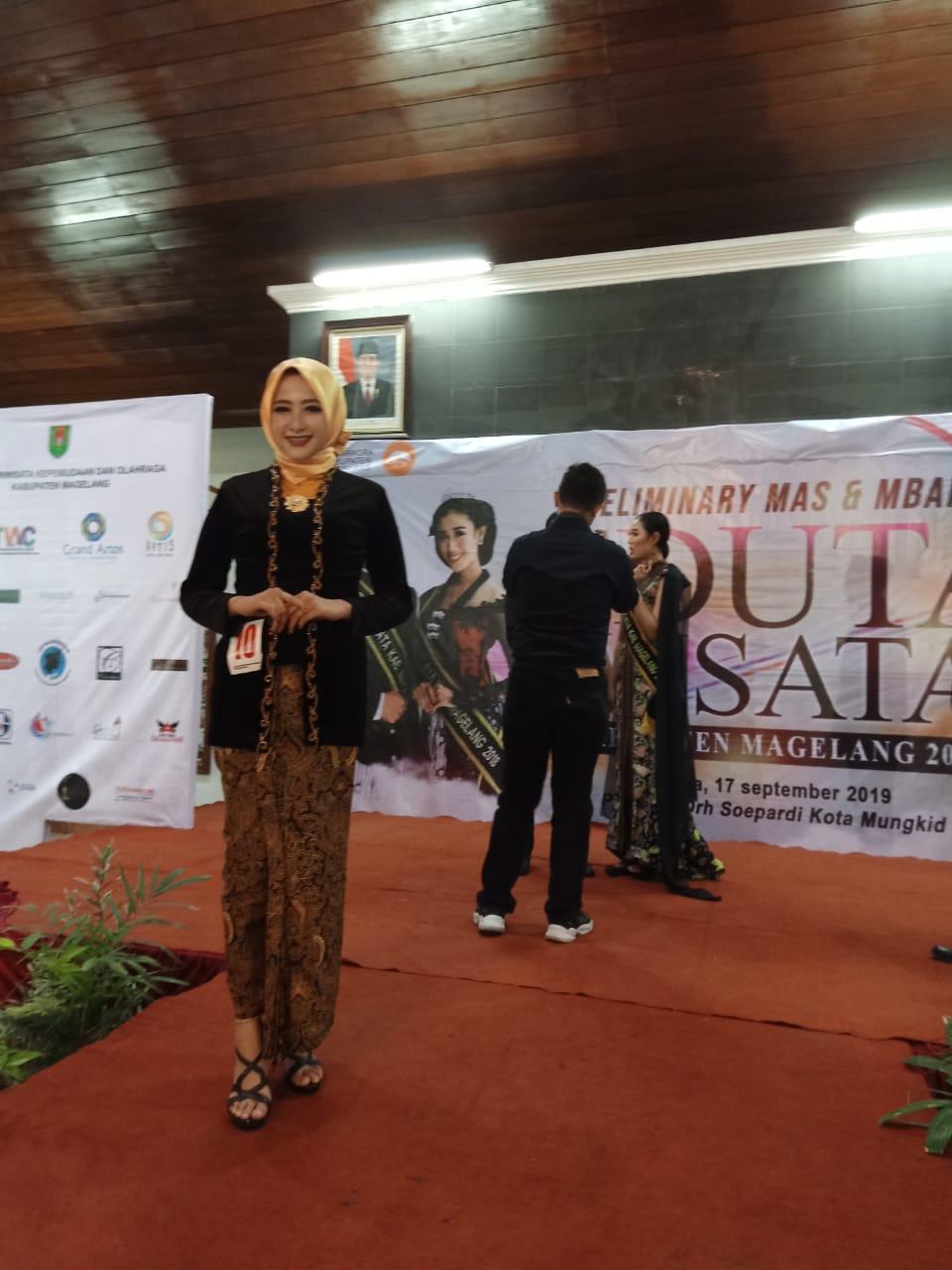 Malam Akrab Mas Mbak Duta Wisata Kabupaten Magelang 2019