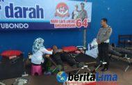 Kapolres dan Dandim Donorkan Darah Dalam Rangka HUT Polantas ke-64