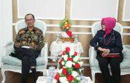 Sensus Penduduk, Walikota Palembang Audiensi dengan BPS Sumsel