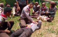 Saka Bhayangkara Polsek Kertek Berlatih Krida Pencegahan dan Penanggulangan Bencana