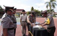 Kapolres Sumenep AKBP Muslimin, S.I.K. Pimpin Sertijab Kabagren dan Kapolsek Manding