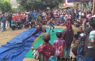 Ojung Kesenian Khas Banyuwulu, Tampil di Desa Glingseran