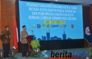Teken MOU dengan LAN, Bupati Ingin Ciptakan Birokrasi Clean Government & Good Governance di Bondowoso