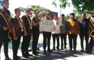 Semangat Warga Kemiri RT 20, Deklarasikan Kampung Tertib Lalu Lintas