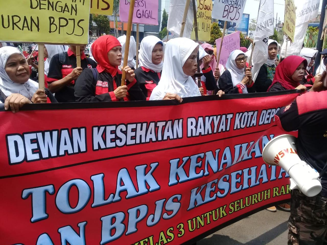 Datangi Kantor BPJS, DKR: Tolak Kenaikan Iuran, Kembalikan Jamkesmas